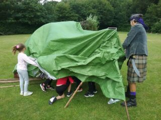Aylmerton Shelter Build